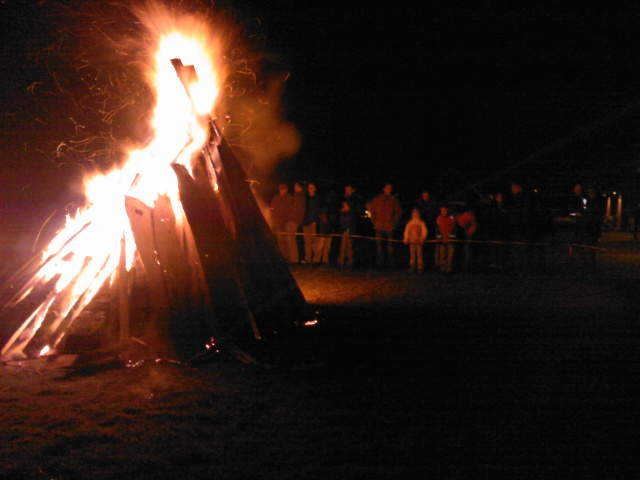 Osterfeuer2008