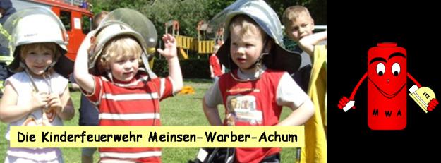 Die Feuerwehr im Kindergarten - künftige Mitglieder der Kinderfeuerwehr?