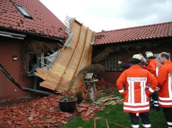 Technische Hilfeleistung - Sturmschäden