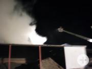 Brandbekämpfung mit der Drehleiter