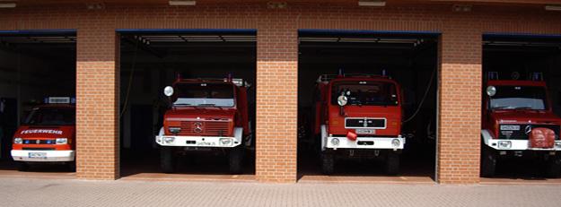 Fahrzeuge der Ortsfeuerwehr MWA